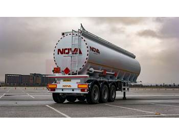 Nova Cylindrical Tanker Semi Trailer Bottom Loading - полуприцеп-цистерна