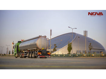 Nova Stainless Steel Tanker Trailer 22.000 to 60.000 Lt From Factory - полуприцеп-цистерна