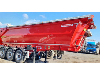 Fruehauf Fruehauf Benne Acier Optisteel 5&4 - Disponible - самосвальный полуприцеп