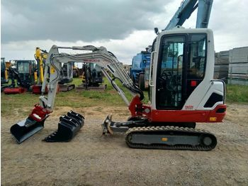 Мини-экскаватор Takeuchi TB225 *Powertilt